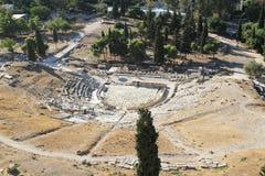 Starożytnego Grka teatr Dionysus w Ateny Fotografia Royalty Free
