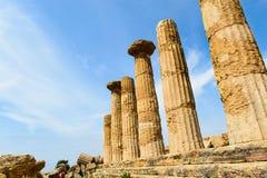 starożytni filarów Fotografia Stock