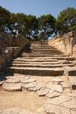 starożytni kroków obrazy stock