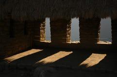 starożytni machu picchu okno Fotografia Royalty Free