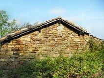 starożytny dom el maharka jijel - Algeria fotografia stock