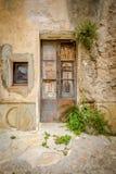 starożytny drzwi Zdjęcie Royalty Free