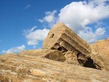 Starożytny Grek ruiny Obrazy Royalty Free