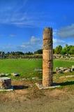Starożytny Grek ruiny i kolumny Obraz Stock