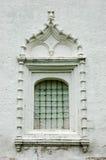 starożytny kratownicy okno Fotografia Royalty Free