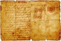 starożytny list Obraz Stock