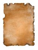 starożytny odosobnione pergamin papieru Zdjęcia Stock