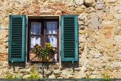 starożytny okno Obraz Stock