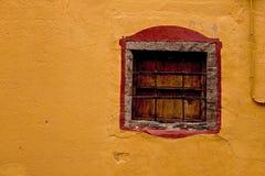 starożytny okno Zdjęcia Stock