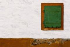 starożytny okno Fotografia Royalty Free