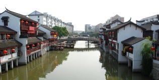 starożytny qibao miasta Shanghai Zdjęcie Stock