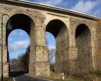 starożytny stone bridge Obrazy Royalty Free