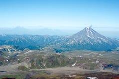 starożytny wulkan Zdjęcia Stock