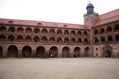 starożytny zamek Zdjęcia Royalty Free