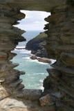 starożytny zamek okno Fotografia Royalty Free