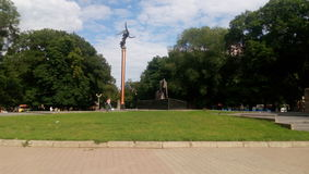 Starobazrarniy sq Odessa, Ukraina Obrazy Stock