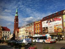 Starogard Gdanski stadfyrkant Royaltyfri Bild