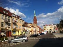 Starogard Gdanski town square Stock Photos