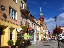 Starogard Gdanski town square Stock Images