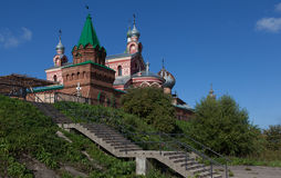Staroladozhsky Nikolsky修道院 俄国 免版税库存图片