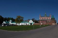 Staroladozhsky Nikolsky修道院 俄国 图库摄影