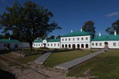 私有大厦 Staroladozhsky Nikolsky修道院 Staraya拉多加 俄国 库存照片