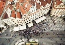 Staromestska Square Stock Image