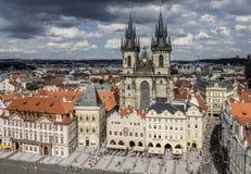 Staromestske Namesti Praag royalty-vrije stock fotografie