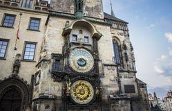 Staromestsky orloj - Praga Zdjęcia Royalty Free