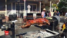 Staromodna świni pieczeń Zdjęcie Royalty Free