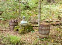 Staromodna cisza w appalachians zdjęcie stock