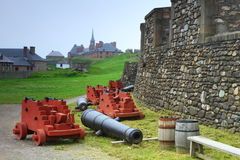 Staromodne fortyfikacje Fotografia Royalty Free