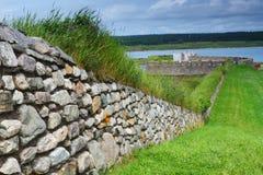 Staromodne fortyfikacje Zdjęcia Royalty Free