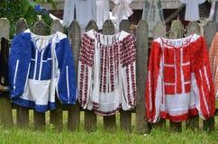 Staromodne kobiety ` s bluzki Zdjęcie Royalty Free