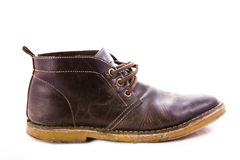Staromodni brązów buty Obrazy Stock