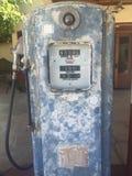 Staromodny benzynowy bowser Obrazy Royalty Free