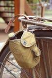 Staromodny bicykl. Płytka głębia pole obrazy royalty free