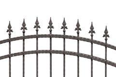 Staromodny kolca ogrodzenie Zdjęcie Royalty Free