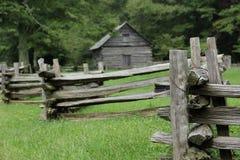 Staromodny ogrodzenie Obrazy Stock