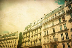 Staromodny Paris fotografia stock