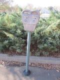 Staromodny parking metr Fotografia Stock