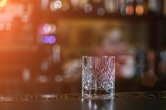 Staromodny whisky koktajl fotografia royalty free