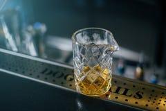 Staromodny whisky koktajl obraz stock