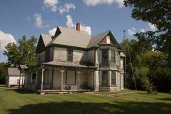 Staromodny wiktoriański dom Obrazy Royalty Free