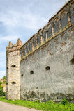Staroselskiy-Schloss in den Starren Selo im Lemberg Lizenzfreie Stockfotos