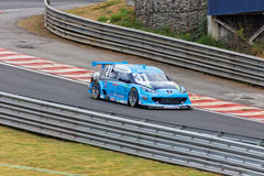 Starostik Blue Racing Stock Car Interlagos Brazil Stock Photo