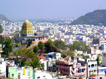 starożytne miasta hindusa świątyni Zdjęcie Royalty Free