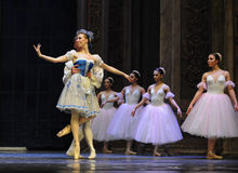 Starring curtain call -The Ballet  Nutcracker Stock Photography