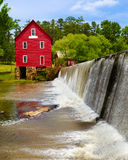 Starrs-Mühle, ein historisches Wahrzeichen nahe Atlanta Stockbild