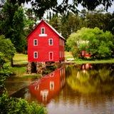 Starrs-Mühle, ein historisches Wahrzeichen nahe Atlanta Stockfotografie
